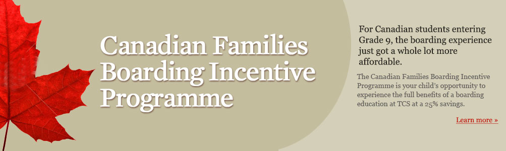 Canadian Families Boarding Incentive Programme (Temp)