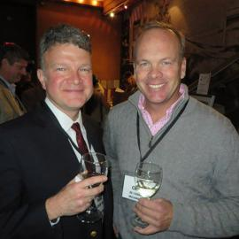 Performers Frank Lawler '84 and Chris de Courcy-Ireland '85